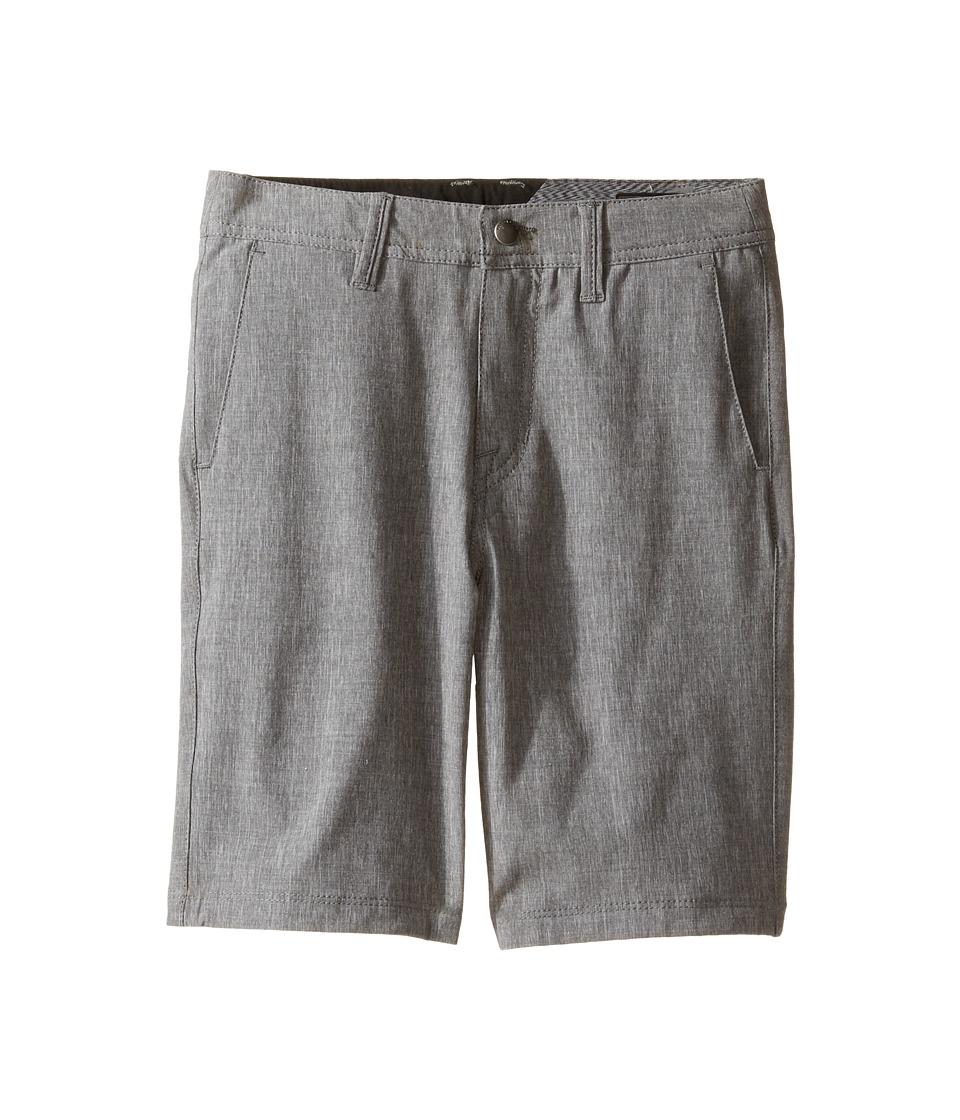 Volcom Kids - Frickin SNT Static Shorts (Toddler/Little Kids) (Stealth) Boy's Shorts