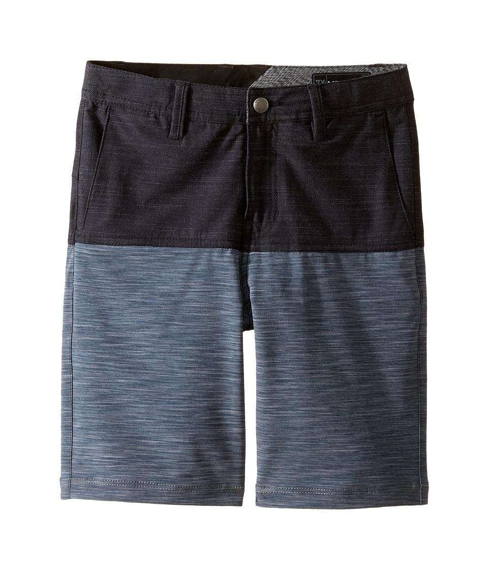 Volcom Kids - Frickin SNT Block Shorts (Toddler/Little Kids) (Black) Boy's Shorts