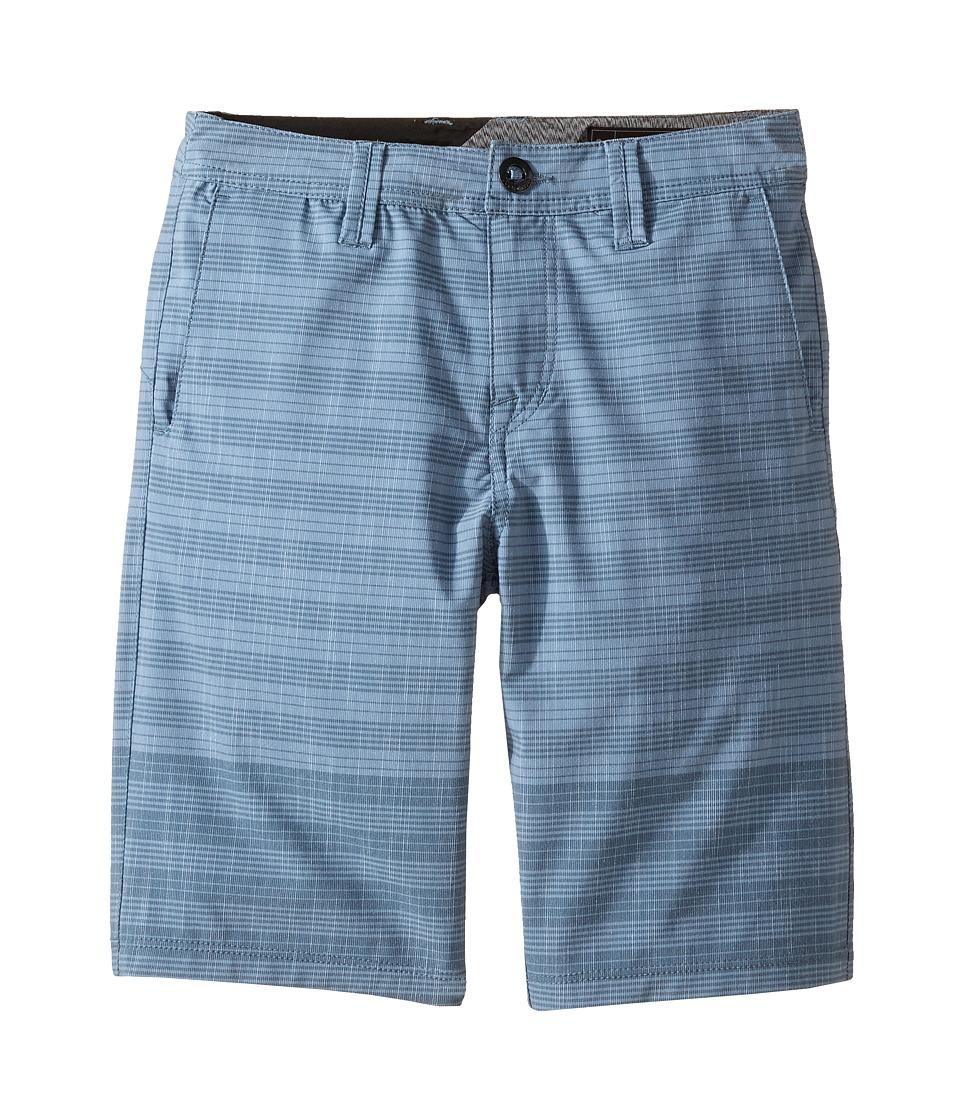 Volcom Kids - Frickin SNT Mix Shorts (Big Kids) (Ash Blue) Boy's Shorts
