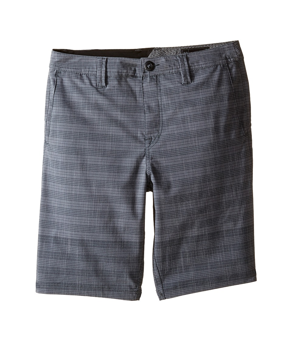 Volcom Kids - Frickin SNT Mix Shorts (Big Kids) (Stealth) Boy's Shorts