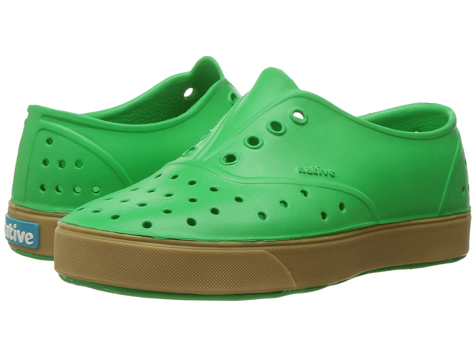 Native Kids Shoes - Miller with Gum Rubber (Little Kid) (Giant Green/Gum Rubber) Kids Shoes