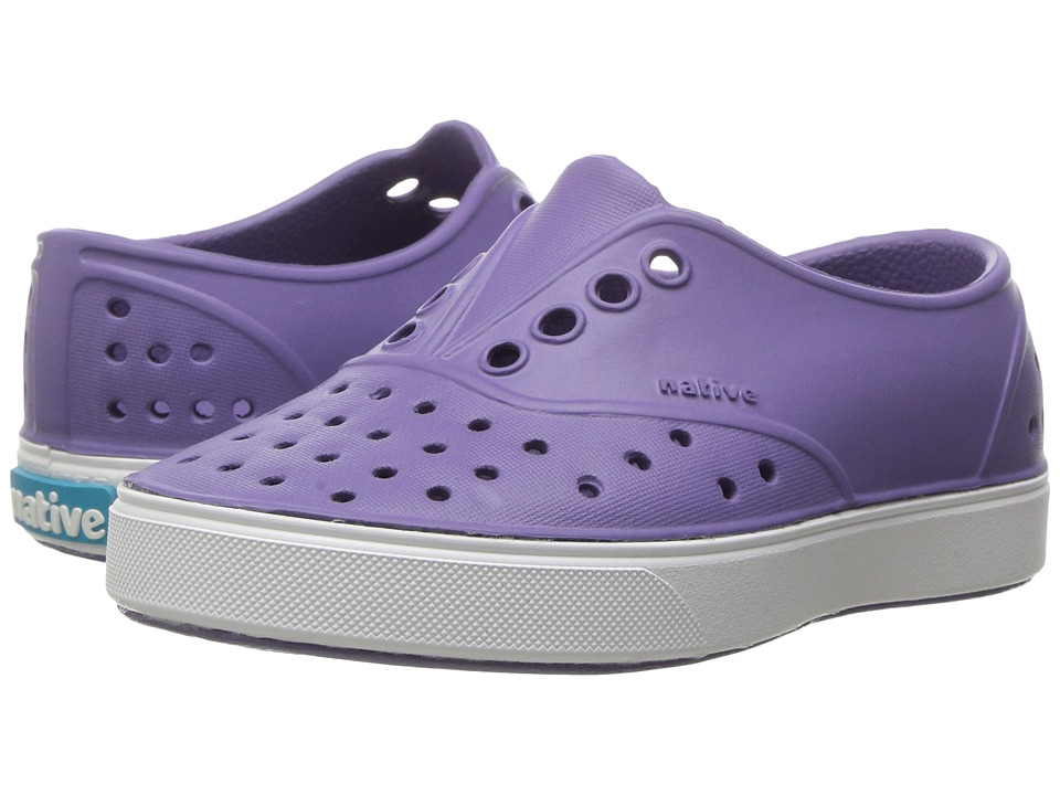 Native Kids Shoes Miller (Toddler/Little Kid) (Haze Purple/Shell White) Girls Shoes