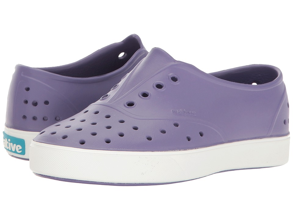 Native Kids Shoes - Miller (Little Kid) (Haze Purple/Shell White) Girls Shoes