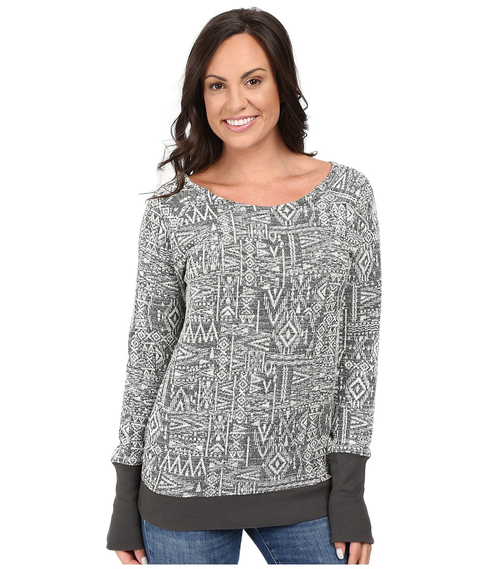 Cruel - French Terry Crew Neck Pullover (Multicolored) Women's Clothing