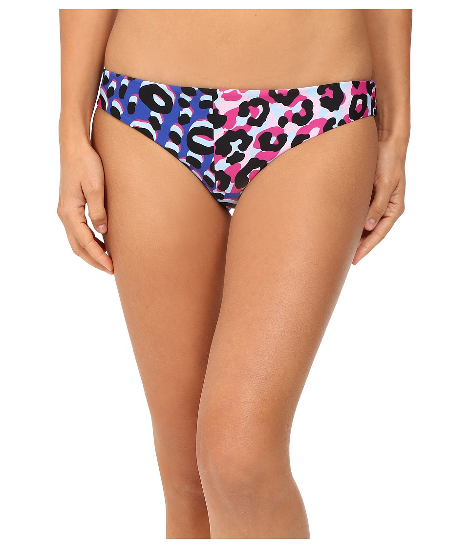 Versace - Animalier Bikini Bottom (Multicolor) Women's Swimwear