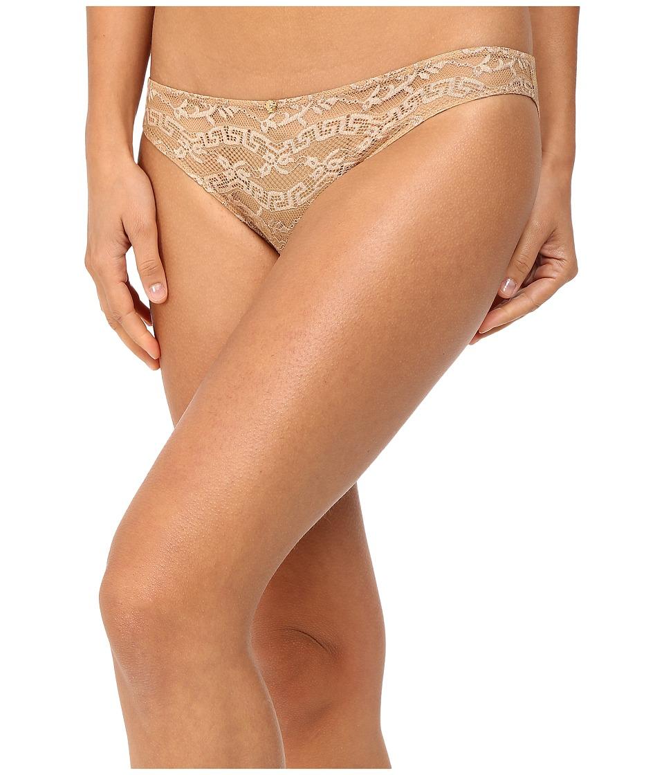 Versace - Lace Slip-On Panty (Nude) Women's Underwear