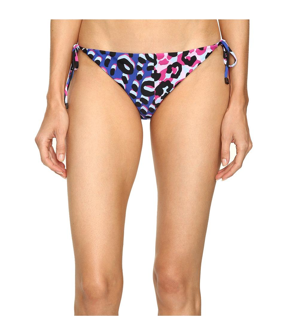 Versace Animalier Tie Bikini Bottom (Multicolor) Women