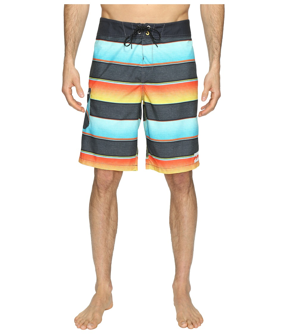 Billabong All Day Originals Stripe Boardshorts (Lime) Men