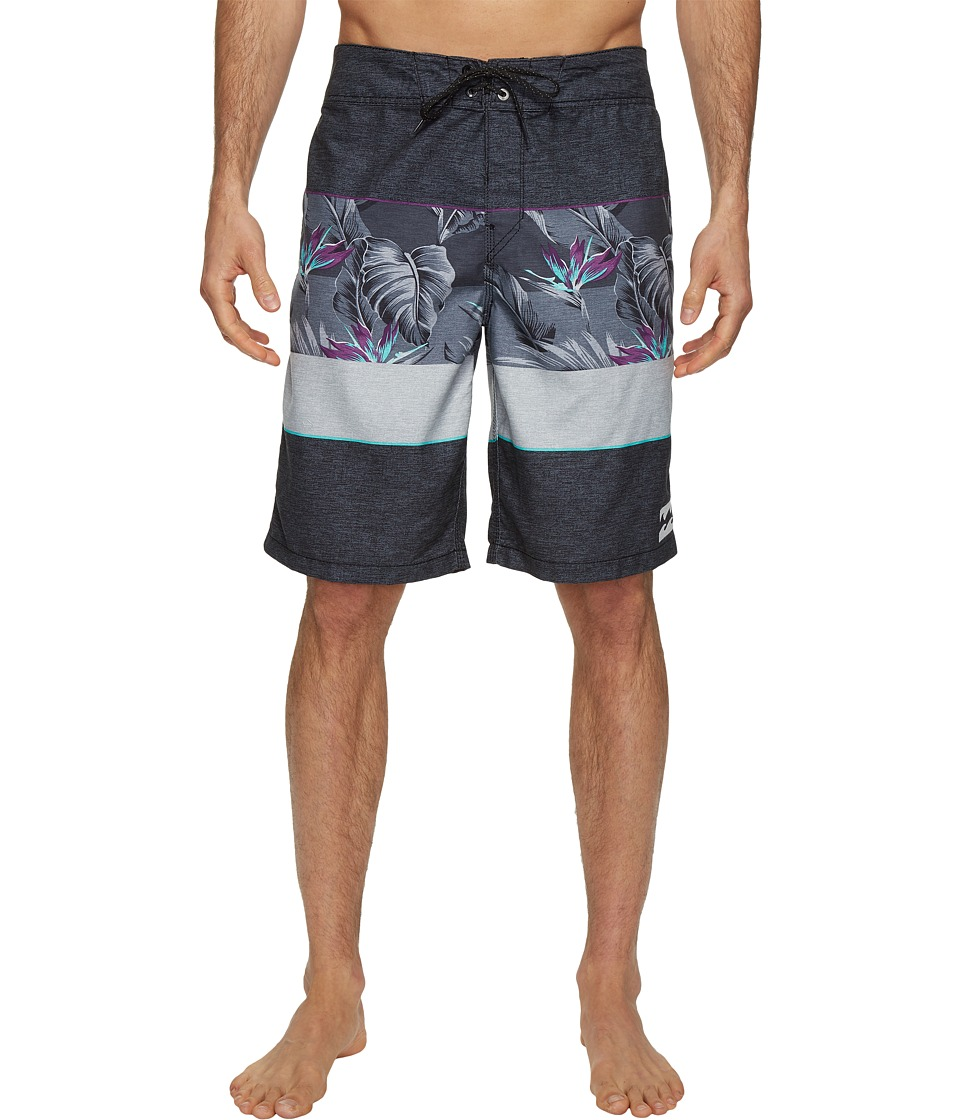 Billabong - Paradise Originals Boardshorts (Black) Men's Swimwear