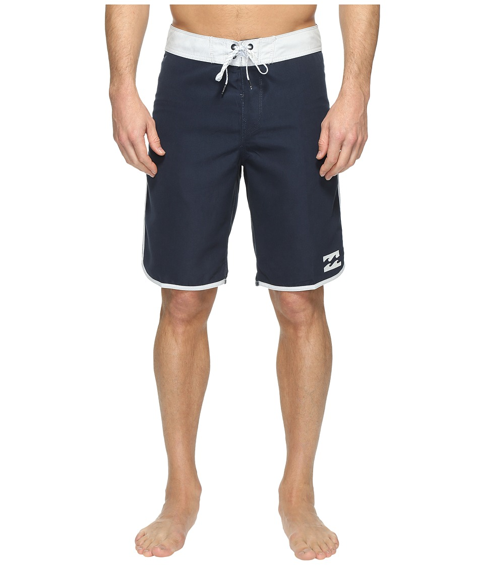 Billabong - 73 Originals Boardshorts (Navy) Men's Swimwear