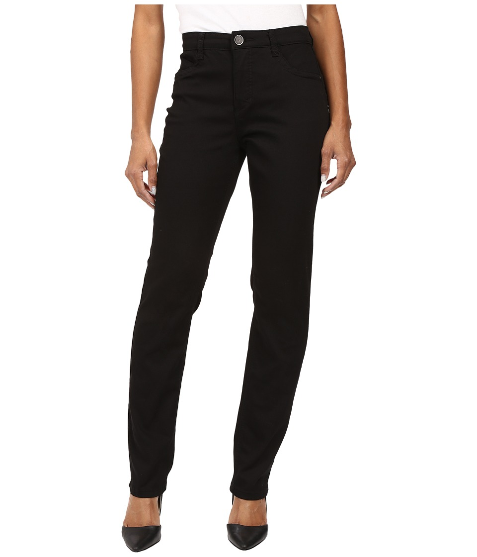 FDJ French Dressing Jeans - Petite Supreme Denim Suzanne Slim Leg in Black (Black) Women's Jeans