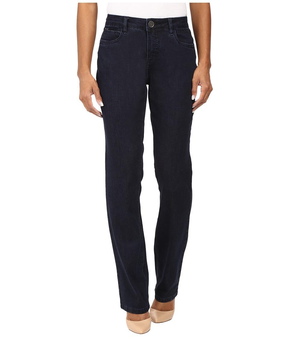 FDJ French Dressing Jeans - Petite Supreme Denim Olivia Straight Leg in Pleasant (Pleasant) Women's Jeans