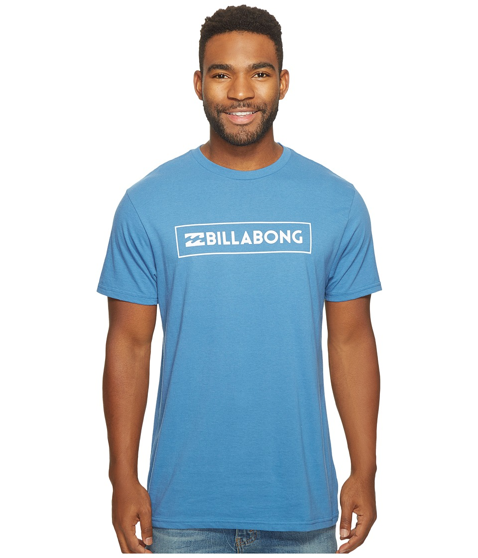 Billabong Unity Block Printed T-Shirt (Royal) Men