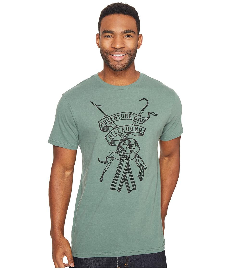 Billabong - Diver Printed T-Shirt (Forest) Men's T Shirt