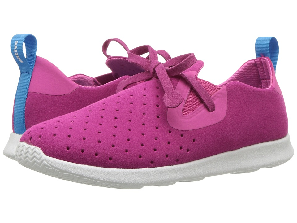 Native Kids Shoes - Apollo Moc (Little Kid) (Hollywood Pink/Shell White) Girls Shoes