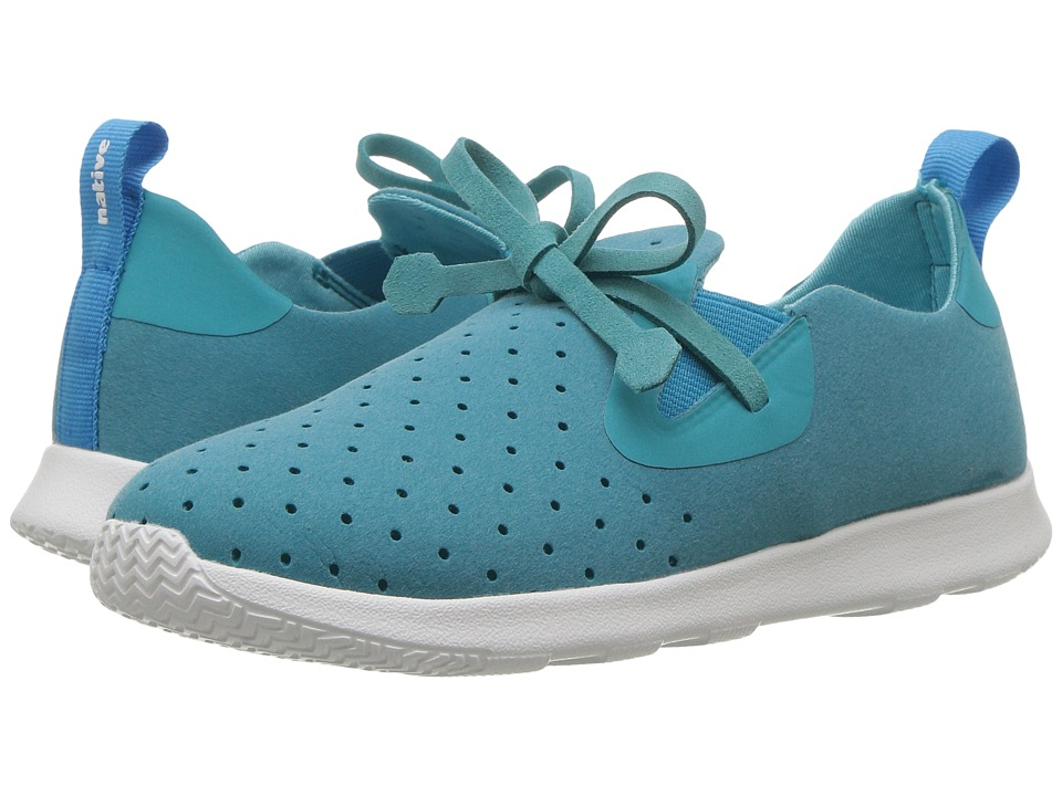 Native Kids Shoes - Apollo Moc (Little Kid) (Iris Blue/Shell White) Kids Shoes