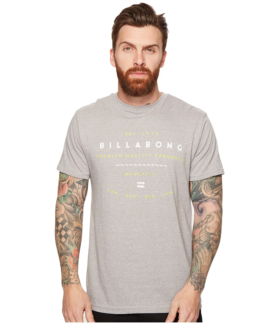Billabong - Ambassador Printed T-Shirt (Grey) Men's T Shirt