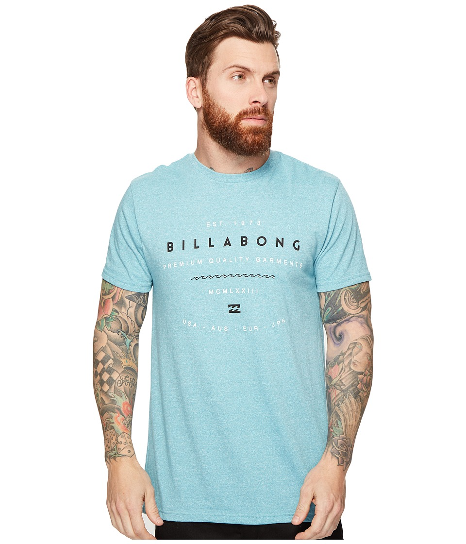 Billabong - Ambassador Printed T-Shirt (Haze) Men's T Shirt