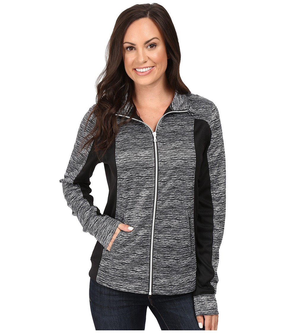 Cinch - Full Zip Jacket (Black) Women's Coat