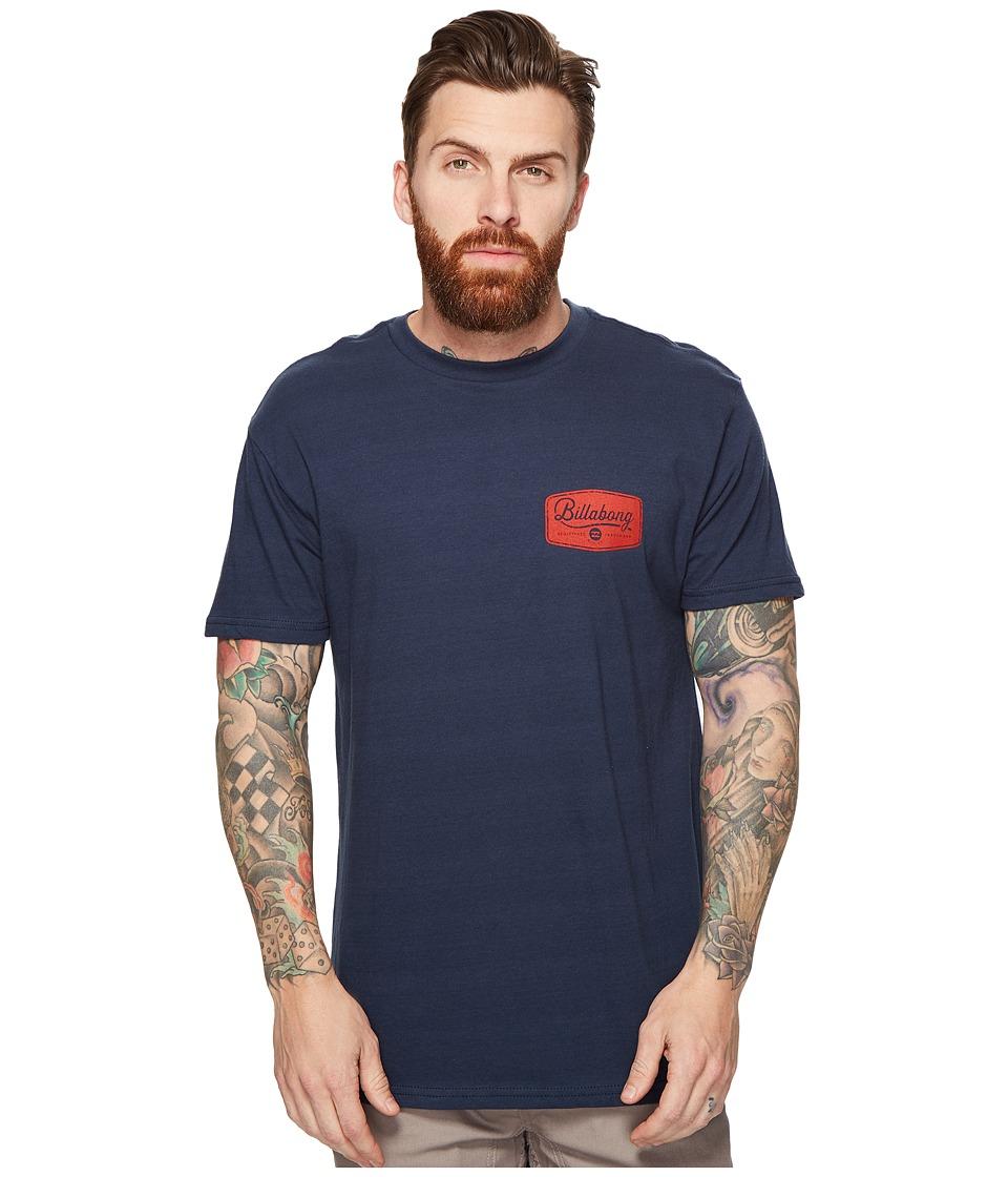 Billabong - Pitstop Printed T-Shirt (Navy) Men's T Shirt