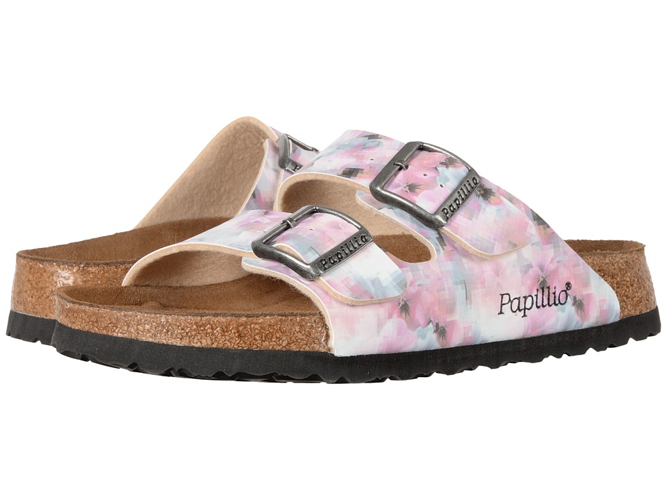 Birkenstock - Arizona Soft Footbed (Pixel Rose Birko-Flor) Women's Shoes