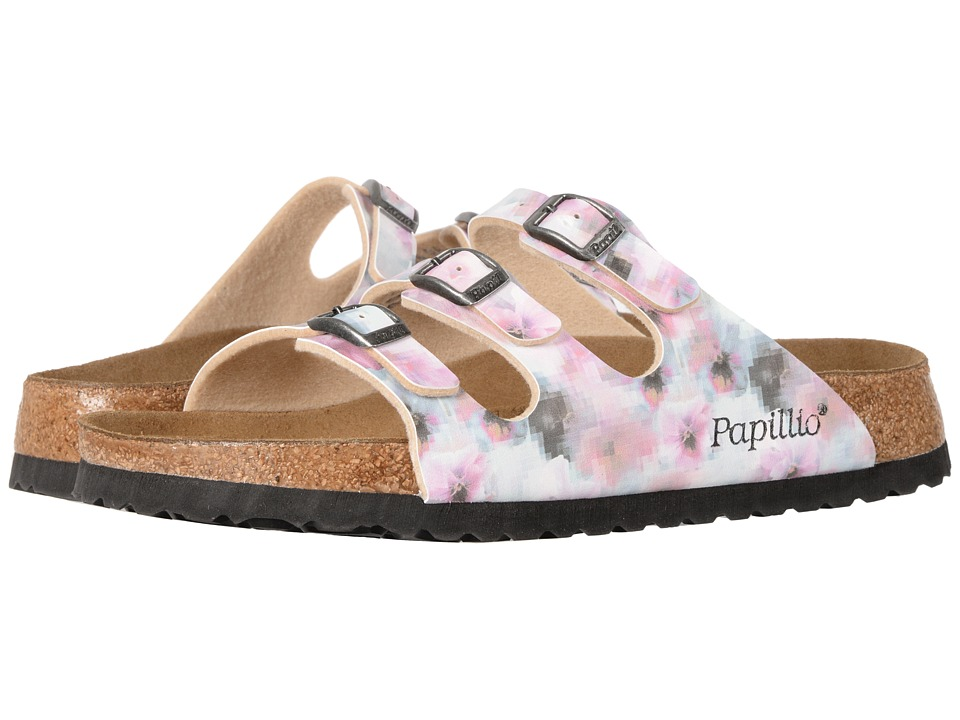 Birkenstock - Florida Pixel Soft Footbed (Pixel Rose Birko-Flor) Women's Shoes