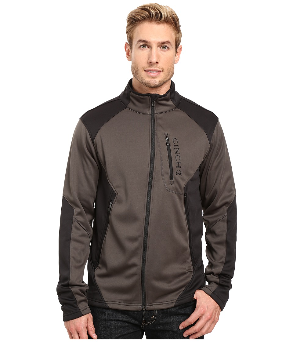 Cinch - Color Blocked Softshell Jacket (Black) Men's Coat