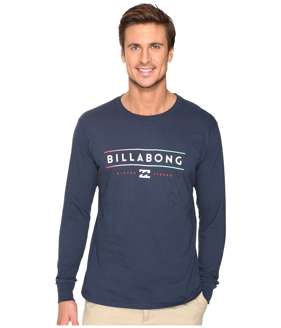 Billabong - Dual Unity Printed T-Shirt (Navy) Men's T Shirt