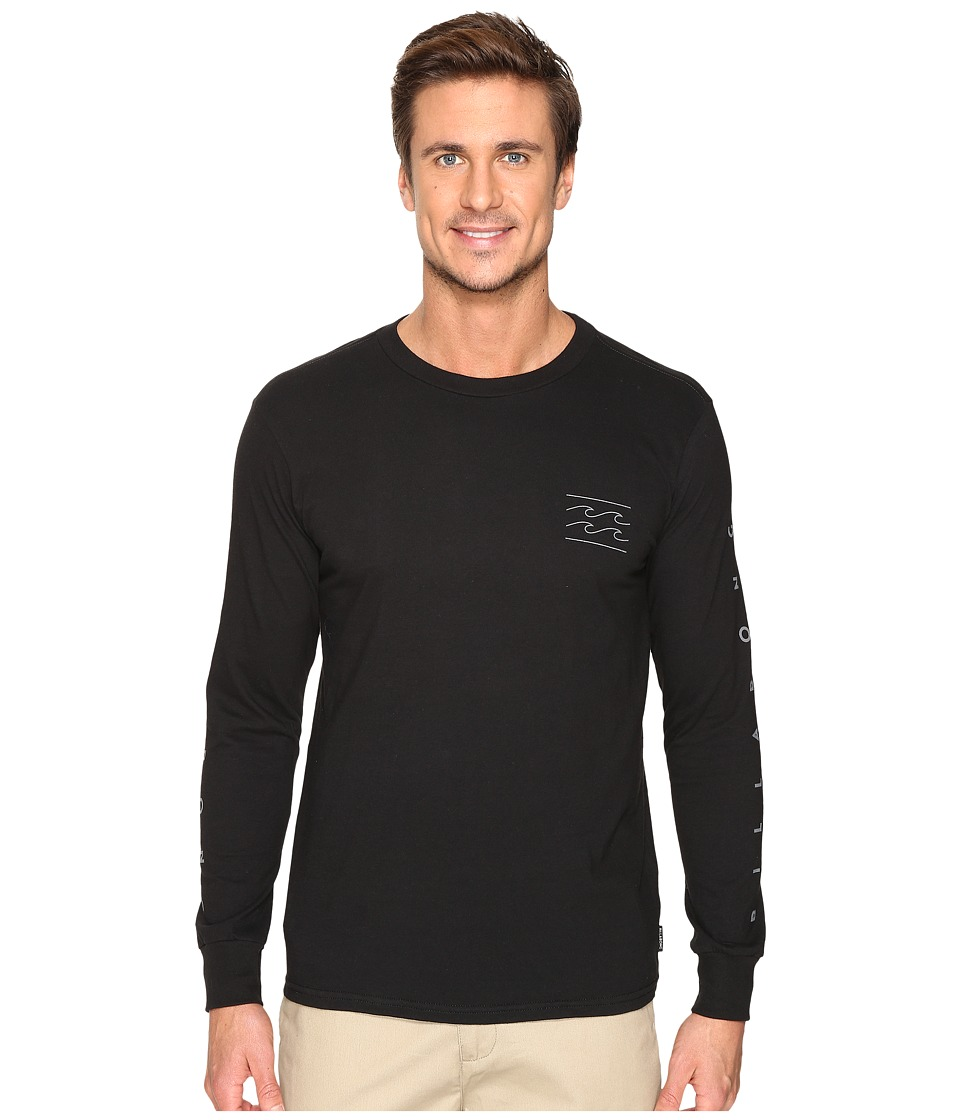 Billabong - Unity Sleeve Printed T-Shirt (Black) Men's T Shirt