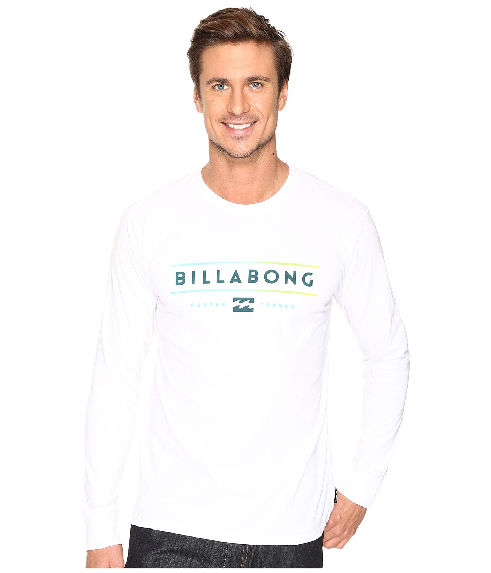 Billabong - Dual Unity Printed T-Shirt (White) Men's T Shirt