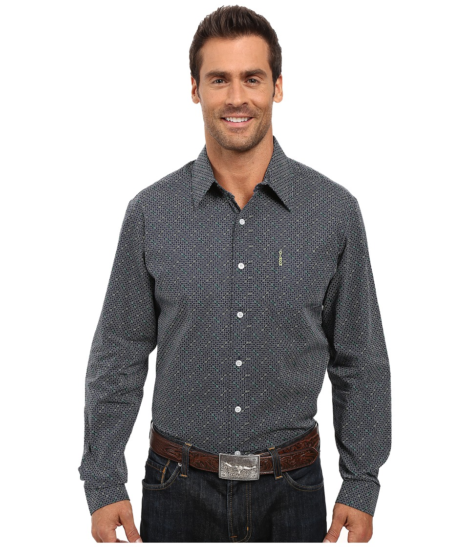 Cinch - Modern Fit Basic Print (Navy) Men's Clothing