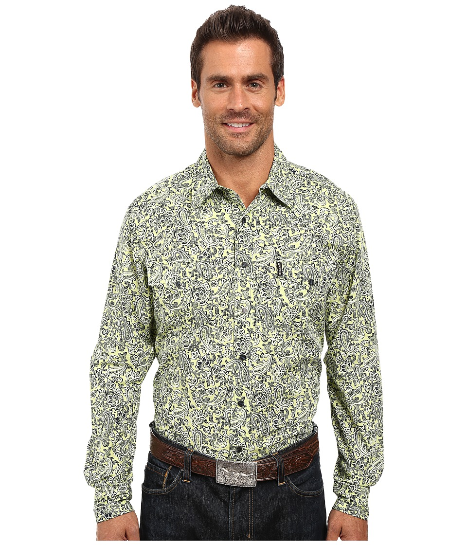 Cinch - Modern Fit Plain Weave (Yellow) Men's Clothing
