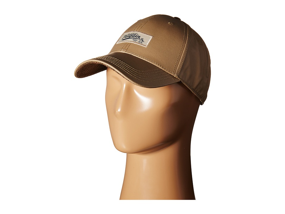Original Penguin - Waxed Fabric Baseball Cap (Khaki) Baseball Caps