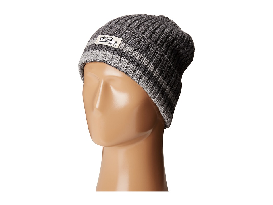 Original Penguin - Chunky Knit Watch Cap (Dark Shadow) Caps
