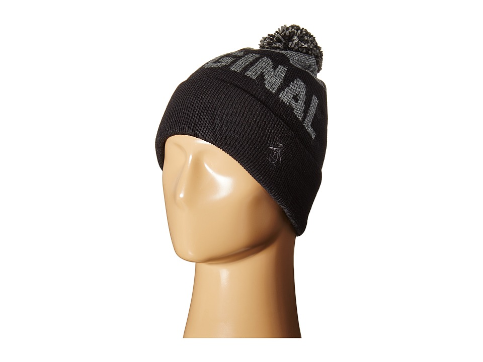 Original Penguin - Original Pom Watch Cap (Black) Caps