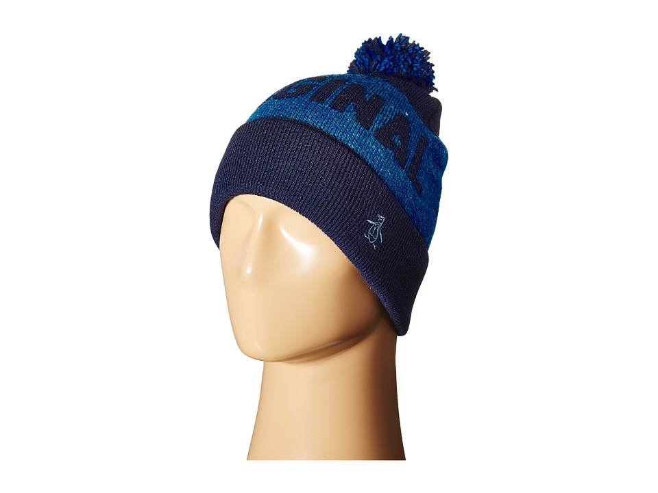 Original Penguin - Original Pom Watch Cap (Dark Sapphire) Caps