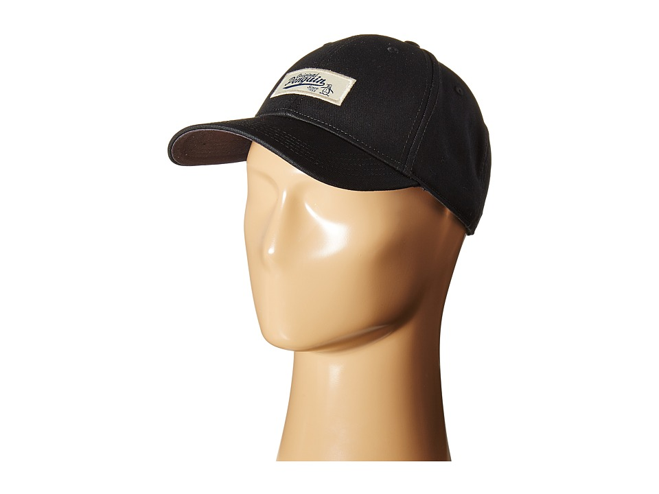 Original Penguin - Patch Baseball Cap (Black) Baseball Caps