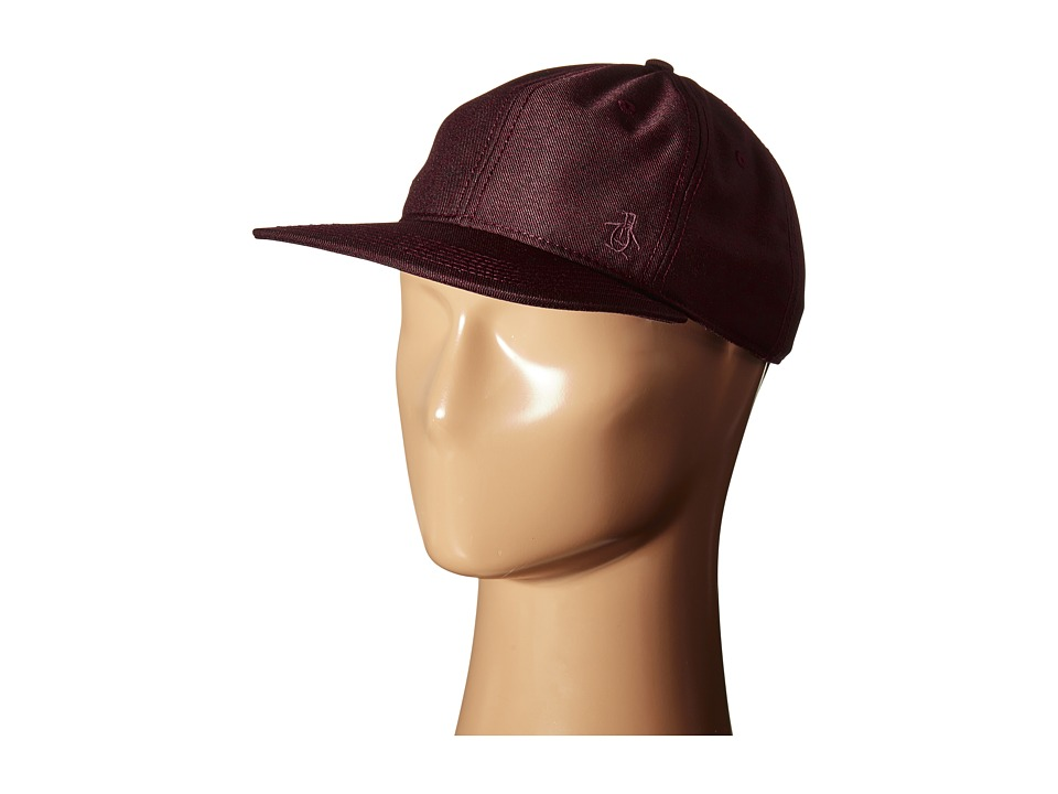 Original Penguin - Melange Dad Cap (Pomegranate) Caps