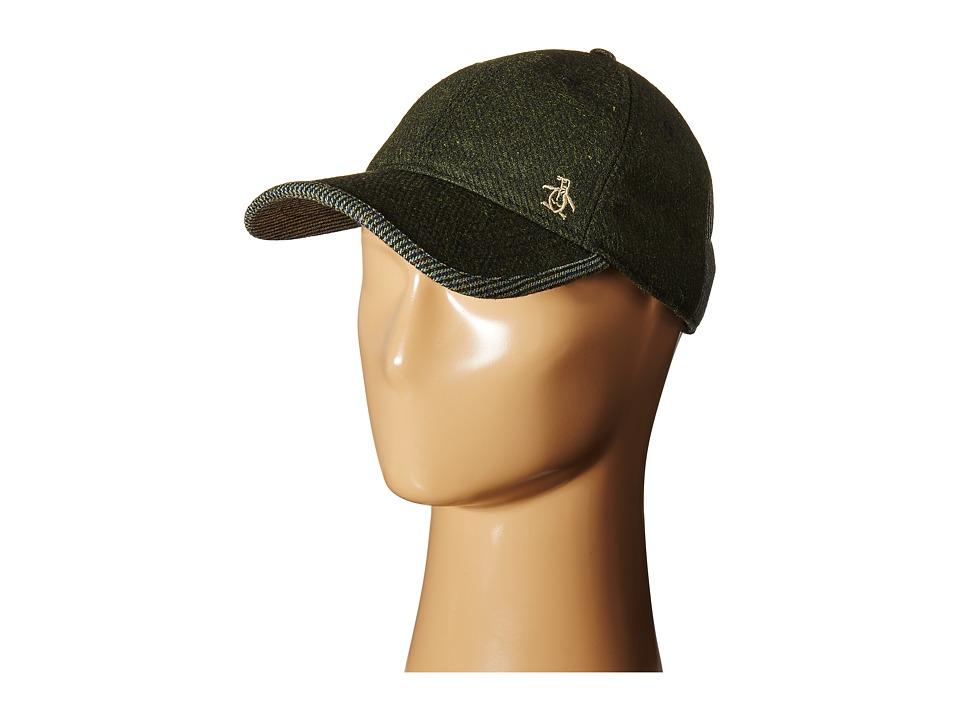 Original Penguin - Woolen Baseball Cap (Dusty Olive) Baseball Caps