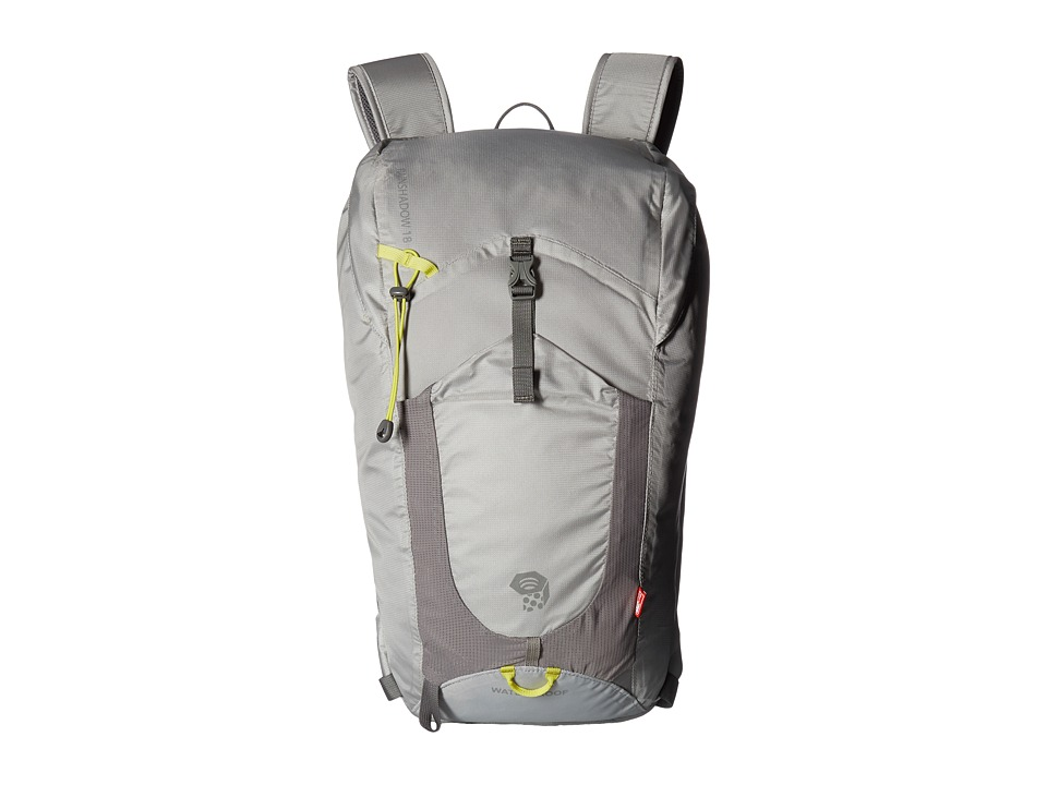Mountain Hardwear Rainshadow 18 OutDry(r) Backpack (Grey Ice) Backpack Bags