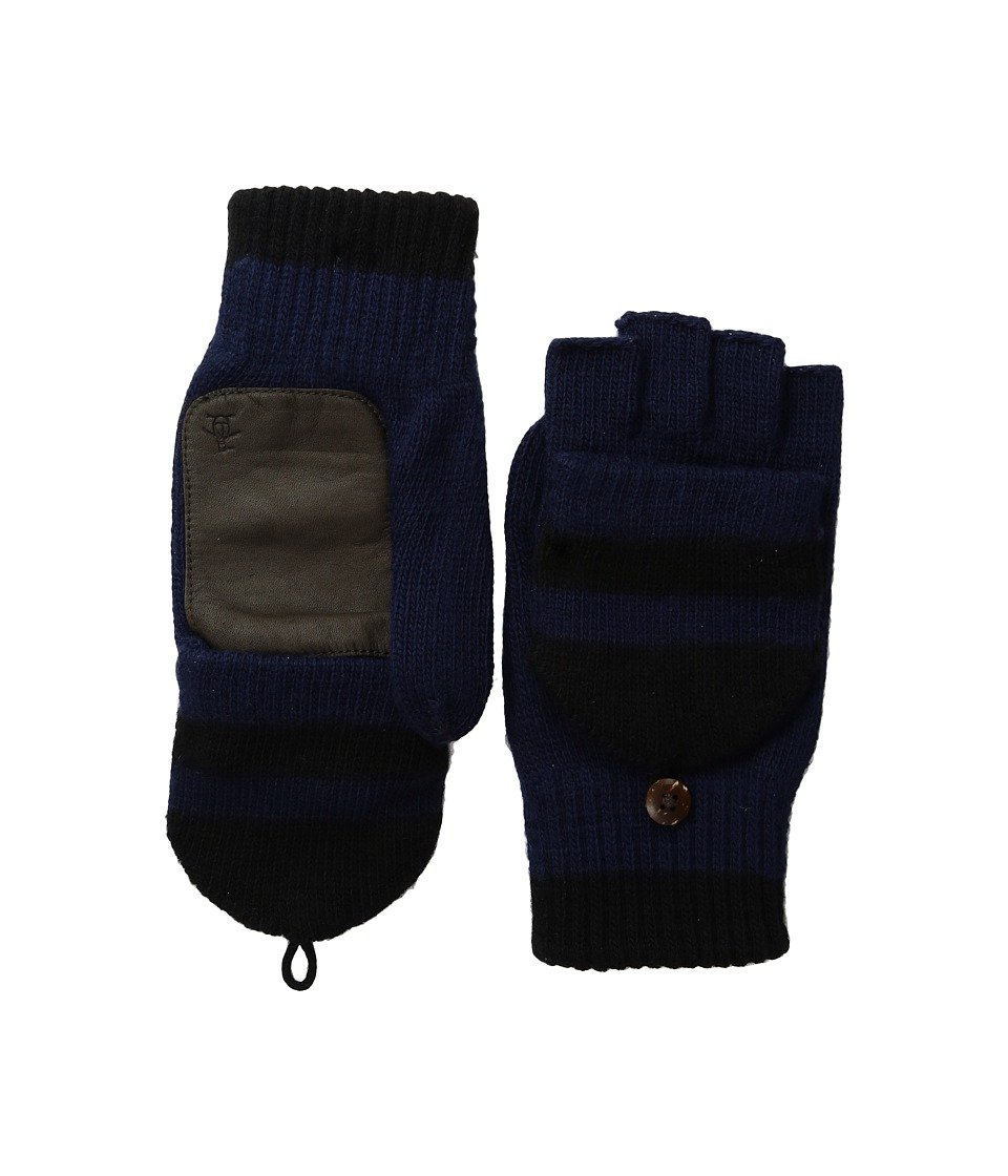 Original Penguin - Convertible Mittens (Dark Sapphire) Extreme Cold Weather Gloves
