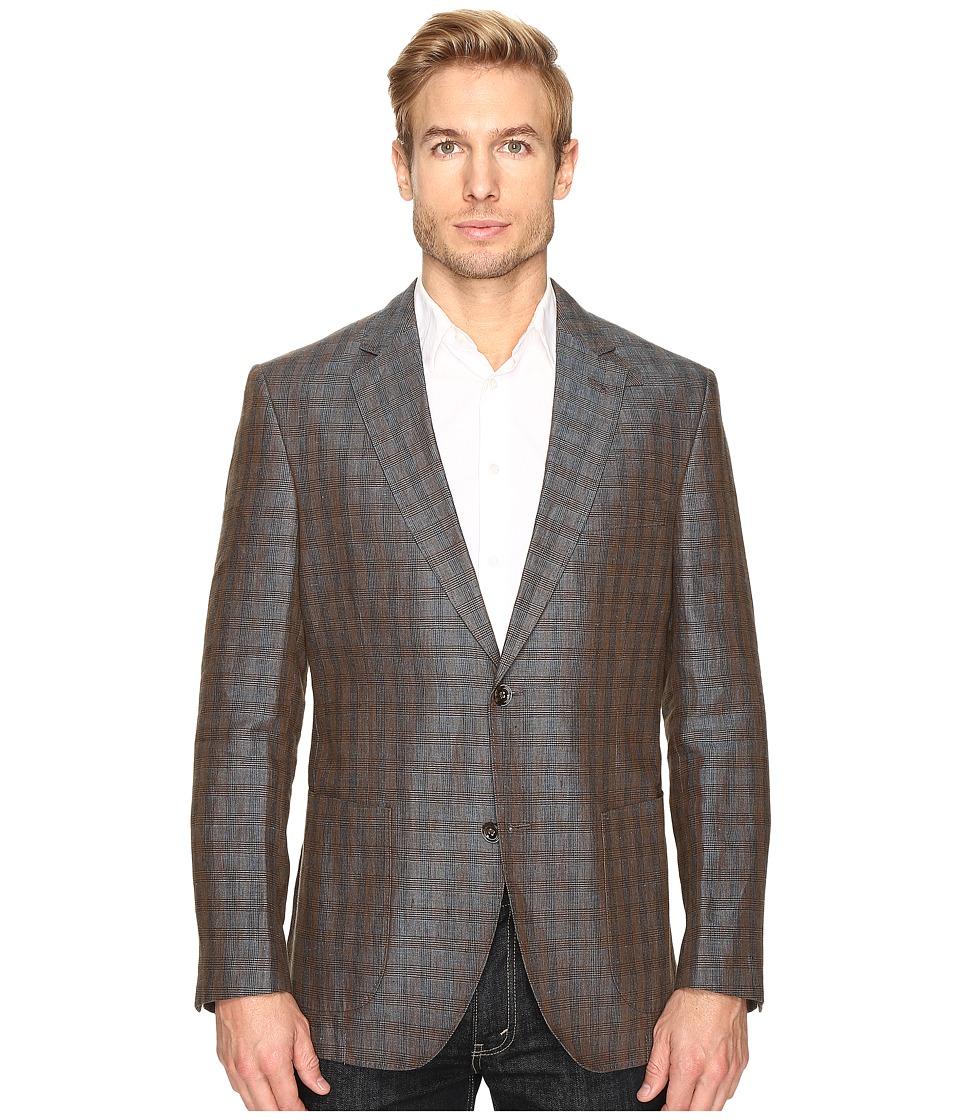 Kroon - Bono Blazer (Green/Gold) Men's Jacket