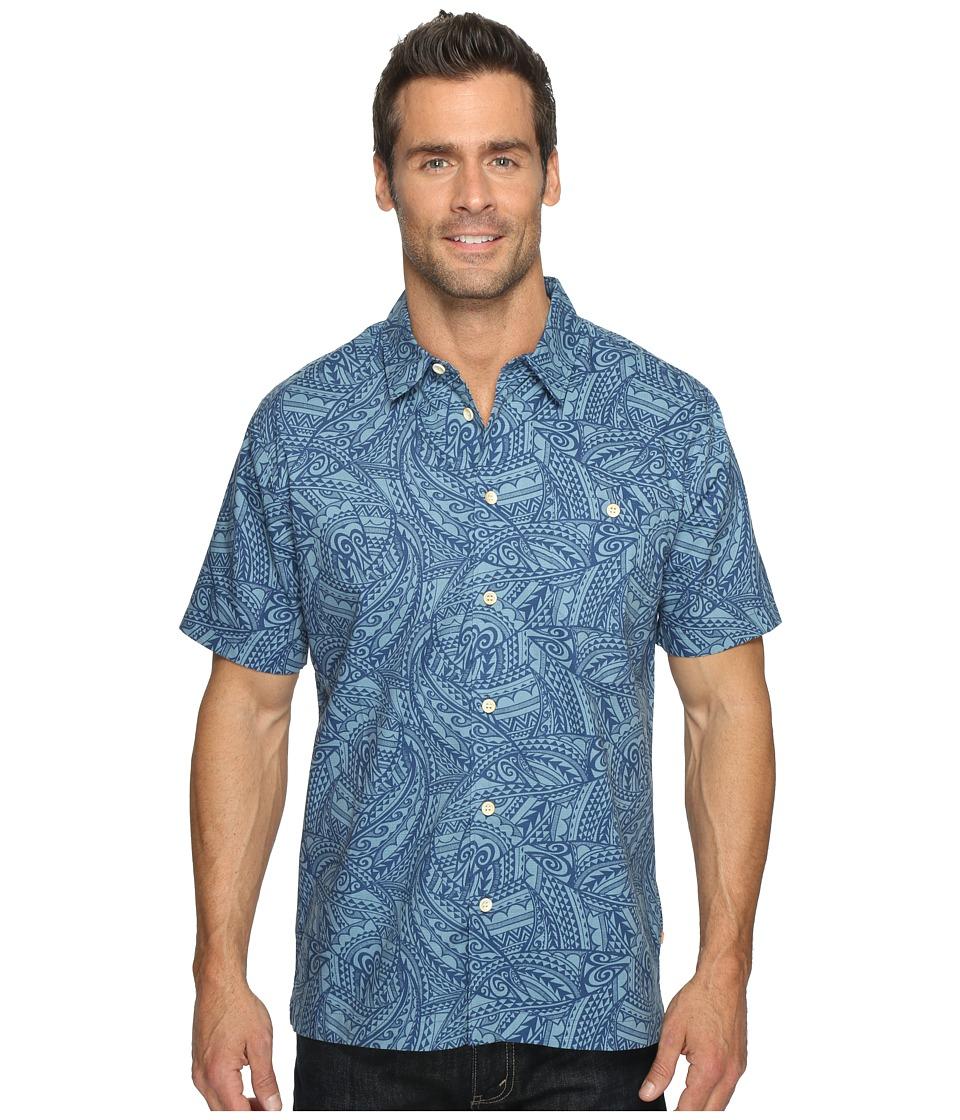 Quiksilver Waterman - Big Cruiser Short Sleeve Shirt (Provencial) Men's Clothing