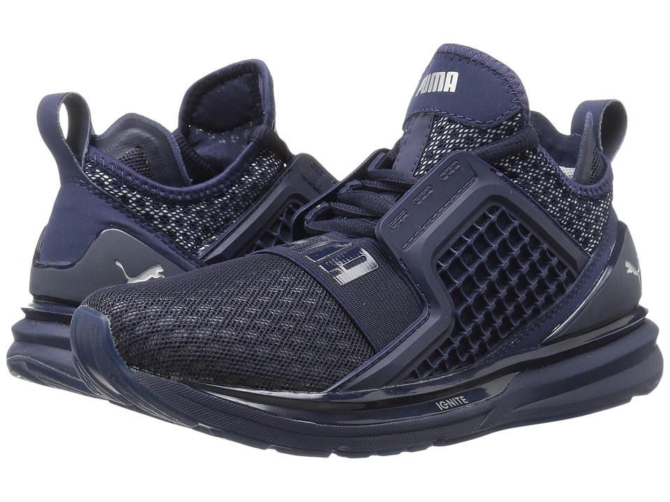 PUMA - Ignite Limitless (Peacoat) Men's Running Shoes