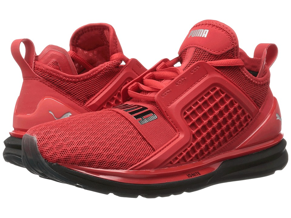 PUMA - Ignite Limitless (High Risk Red) Men's Running Shoes