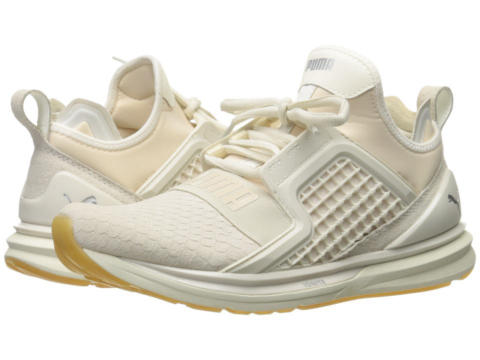 PUMA - Ignite Limitless Reptile (Whisper White) Men's Running Shoes