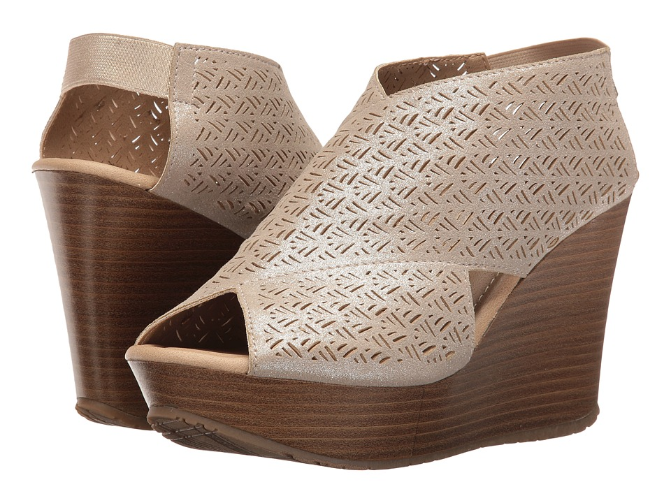 Kenneth Cole Reaction - Sole Safe 2 (Champagne) Women's Wedge Shoes