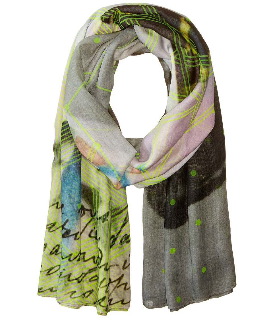 Liebeskind - Neon Scarf (Flashing Yellow Neon) Scarves