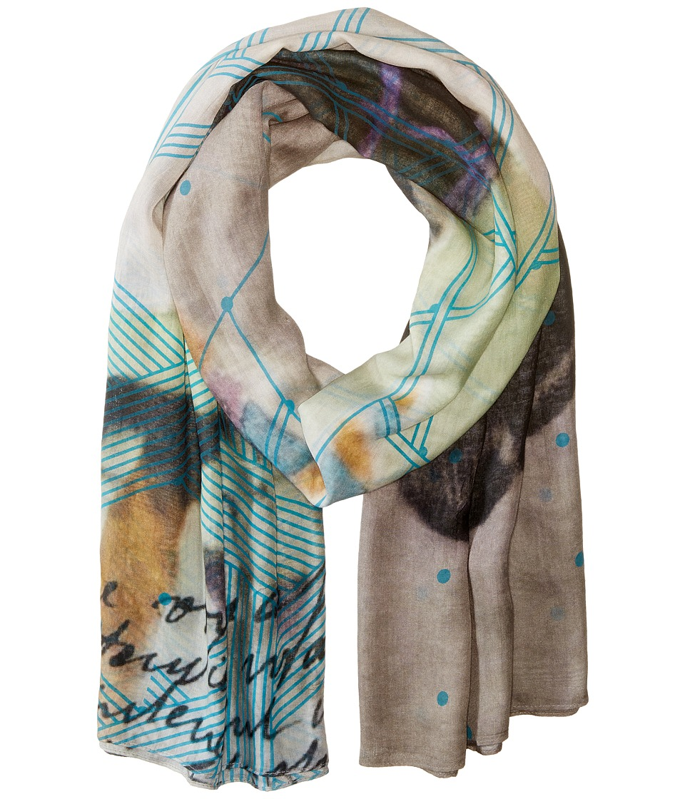 Liebeskind - Neon Scarf (Vibrant Blue Neon) Scarves