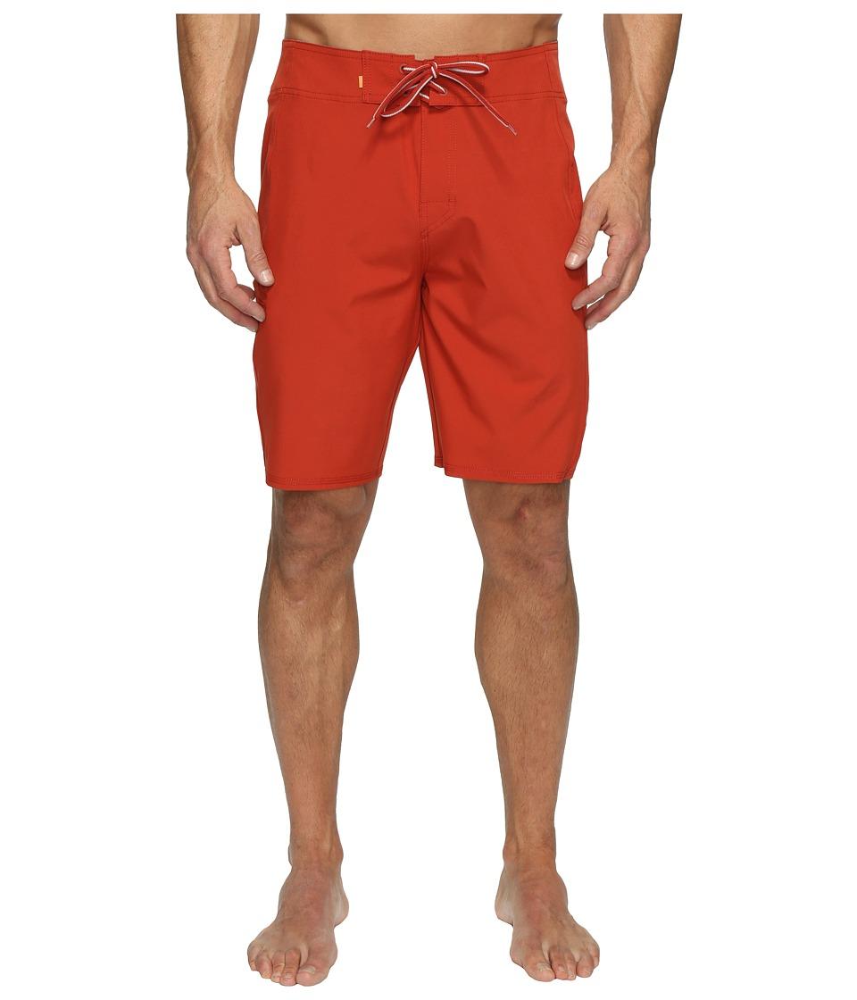 Quiksilver Waterman - Makana Boardshorts (Red Ochre) Men's Swimwear